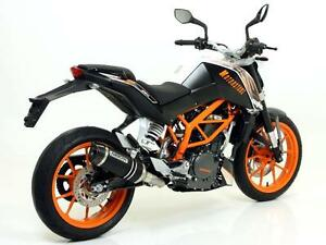 SCARICO-ARROW-THUNDER-DARK-KTM-DUKE-390-2013