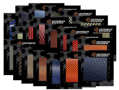Carbon Fiber Made With Kevlar Samples