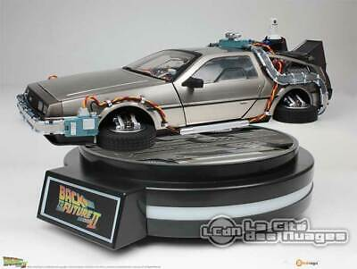 Back To The Future Part II Magnetic Floating 1/20 DeLorean Time Machine 22cm