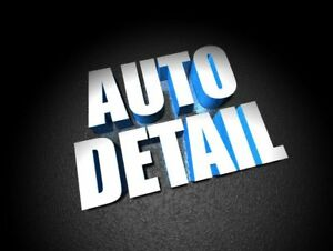 Detailing Plus Package Complete $89.00 In Barrie