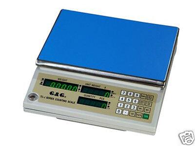 G&G 30kg/1g Präzisionswaage Zählwaage Digital-waage industriewaage TJ