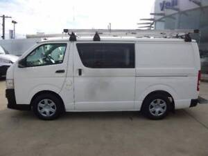 FROM $614 PER MONTH ON FINANCE* 2011 TOYOTA HIACE LWB Coburg Moreland Area Preview