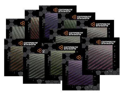 Mirage 2x2 Twill Carbon Fiber Fabric Samples