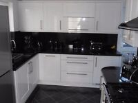 White Gloss Shaker Style Kitchen For Sale For Only £745 Including Appliances!