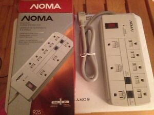 Noma Brand 8-Outlet Surge Protector - SOLD PPU