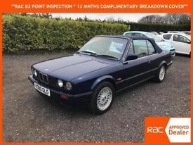 1991 BMW 318 i cabriolet E30 automatic metallic blue stunning car full leather