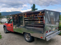 2002 gmc Silverado 2500 hd . Food consession truck $15250.00 OBO