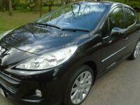 2011 Peugeot 207,Diesel 5door,Full History,Long Mot,2 keys,like Clio,corsa,Micra
