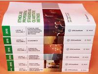 2016 CFA Level 1 Official Curriculum Books PRINT EDITION 2016 Full Set I