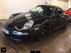55 reg Porsche 911 997 3.8 Carrera 4S Convertible Widebody. P/X, Finance Welcome