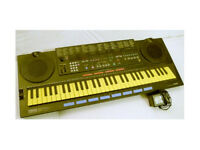 mini key with drum pads built in YAMAHA PSS-790 Keyboard 1988 collectible in box with PSU