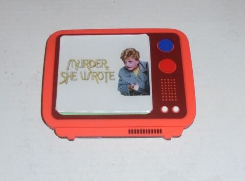 Murder She Wrote Vintage Classic Magnet Door Wall TV Crime Murder Drama Series