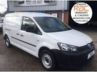 2013 63 VOLKSWAGEN CADDY MAXI 1.6 TDI BLUEMOTION TECHNOLOGY 102BHP WITH AIR CON