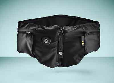 Hövding 2.0 Airbag-Helm mit Überzug, Gr. M schwarz