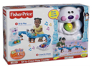 Fisher Price Go Baby Sit to Crawl Polar Coaster Mermaid Waters Gold Coast City Preview