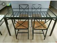 IKEA Granas Dinner Table and 4 chairs