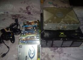 Xbox orignal woth games working