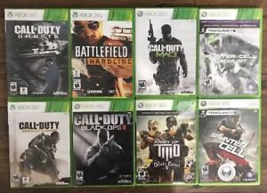 Xbox 360 Games *Lot of 8 Games* Including COD Black Ops 2,MW3 &