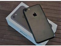 IPHONE 7 MATTE BLACK/ VISIT MY SHOP. / UNLOCKED / 32 GB/ GRADE A / WARRANTY + RECEIPT