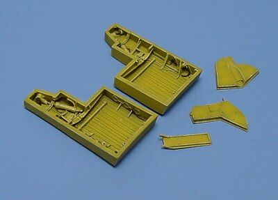 Aires 1/72 Republic P-47D Thunderbolt Wheel Bays 7055