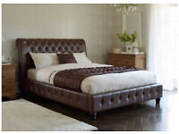 Milan Double Bed with/without mattress