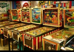 Pinball Machines Wanted!