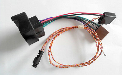 VW Car stereo RCN210 CANBUS conversion line wire Quadlock / ISO cable