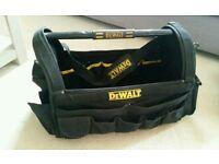 Dewalt tool bag box tote carry bag