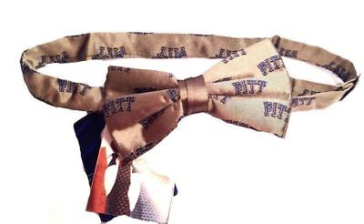 Pitt Panthers Sports - Pitt Panthers Men's Silk Bow Tie Pittsburgh NWT NCAA College Sports Team