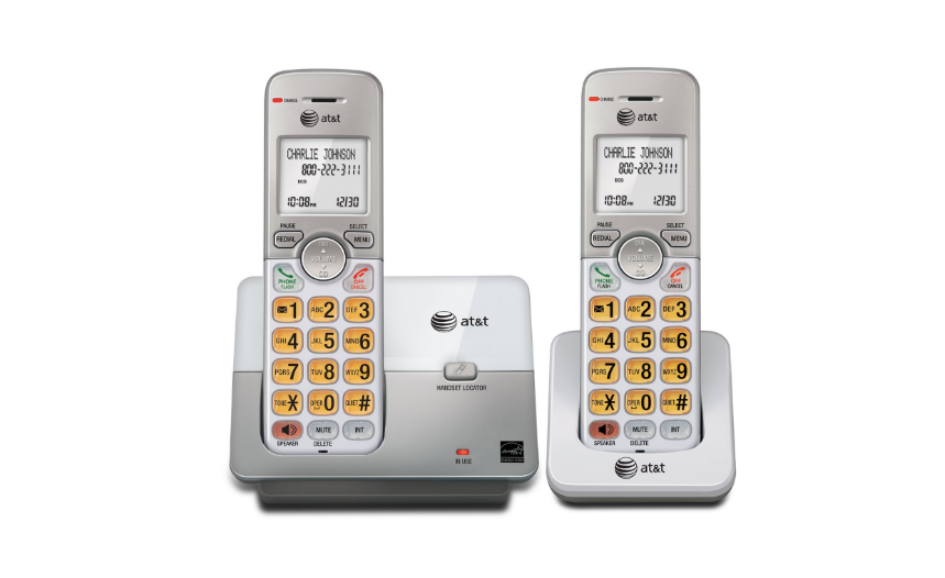 AT&T EL51103 DECT 6.0 Phone with Caller ID/Call Waiting, 1 C