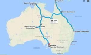 Travelmates wanted: Brisbane-Cairns-Darwin-Alice Springs-Adelaïde Brisbane City Brisbane North West Preview