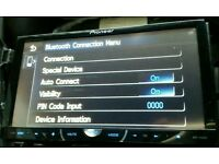 PIONEER DOUBLE DIN AVH4400BT DVD BLUETOOTH USB AUX