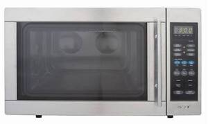 Omega 34L Stainless Steel Microwave Oven Ridgehaven Tea Tree Gully Area Preview
