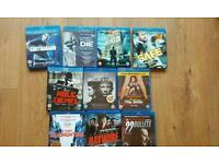 10 Blu-Rays all in excellent condition