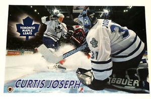 Curtis Joseph Toronto Maple Leafs NHL poster