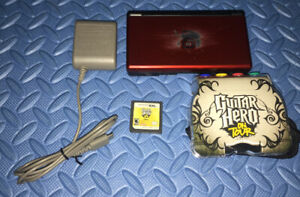 Nintendo DS Lite with Guitar Hero On Tour