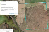 Hunting,recreation,hobby farm,crops  201 Acres - SE Wiarton