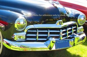 1950 1949 Mercury Monarch Canadian only front Grille assembly Stratford Kitchener Area image 8