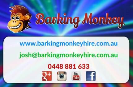 Party PA Speakers and Party Lighting - Barking Monkey Hire West Perth Perth City Preview