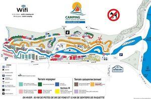 Location de terrain pour roulotte - Camping Ste-Agathe des Monts