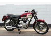 1967 Triumph T120 Bonneville 650cc - Original Uk Model - Matching Number !
