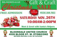 VENDORS WANTED!! 3rd Annual  Bloordale Christmas Sale
