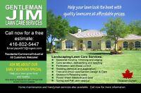 Lawn Care Services / Mainteance