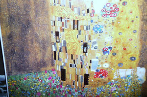 "Gustav Klimt ""The Kiss"" Art Print Stratford Kitchener Area image 5"