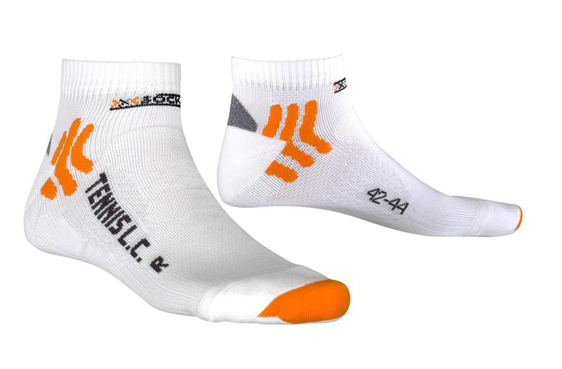 X-Socks Tennissocken Low Cut  - Unisex Funktionssocken weiß - X0T0125-W000