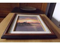 Framed Painting - original signed by the artist - open to offers