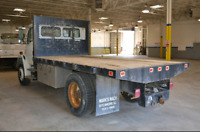 Flat Deck Delivery Truck Service