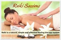 Reiki by Donation - Afternoon & Evening sessions availble
