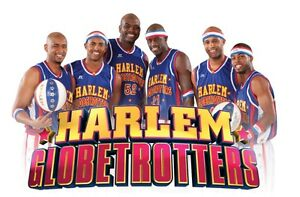 Harlem Globetrotters tickets $60 for the pair