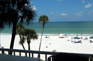 Direct Beachfront luxury condo, St. Petes/Clearwater!!